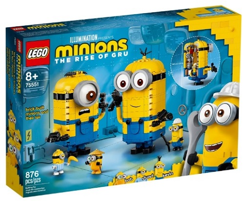 75551 Brick-built Minions and their Lair